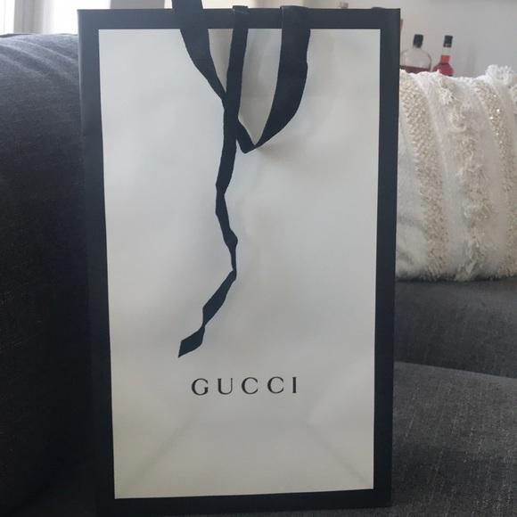 bccb0bb56fd7a3 Gucci Handbags - Gucci shopping bag. Fits shoebox, sweater or SLGs